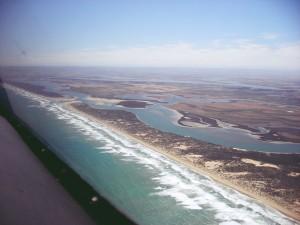 Coorong river mouth