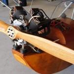 Konig 4 cylinder radial 2-stroke