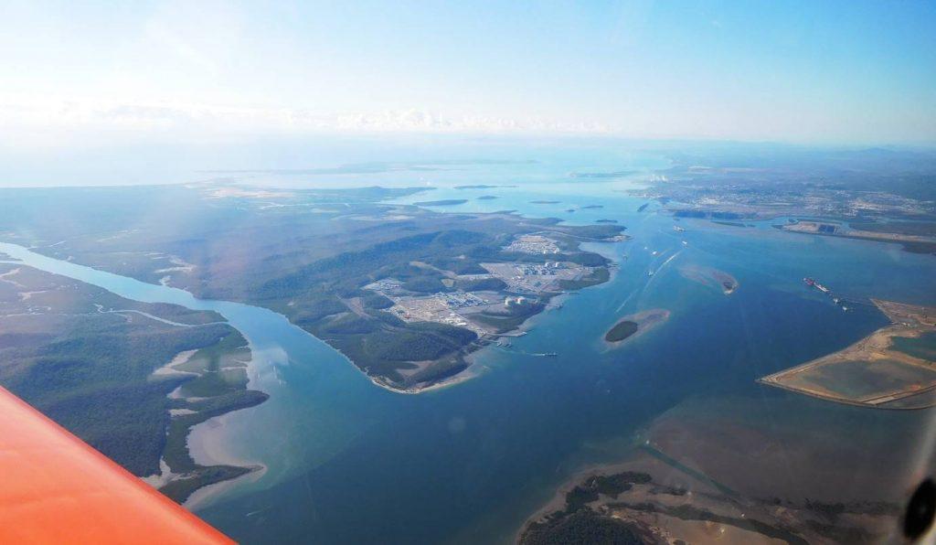 Curtis island gas liquification